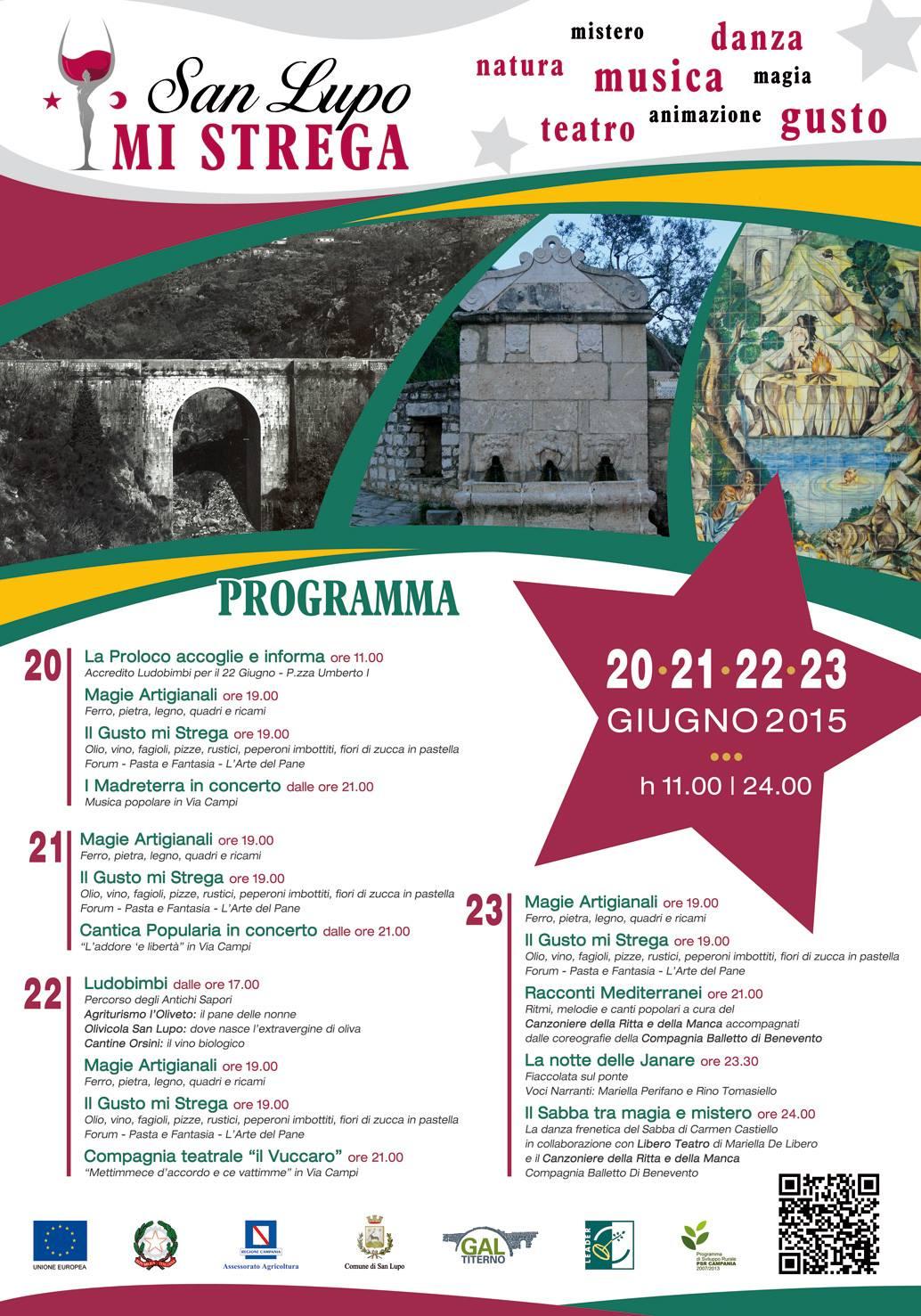 """Conferenza stampa di presentazione di """"San Lupo MI STREGA"""" 2015"""