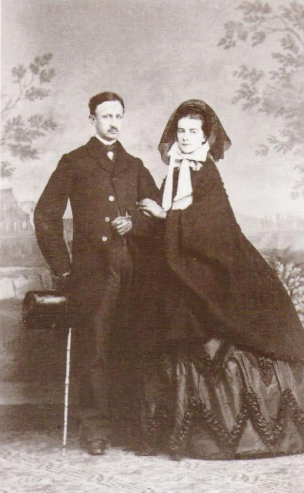 Francesco II e Maria Sofia 1965