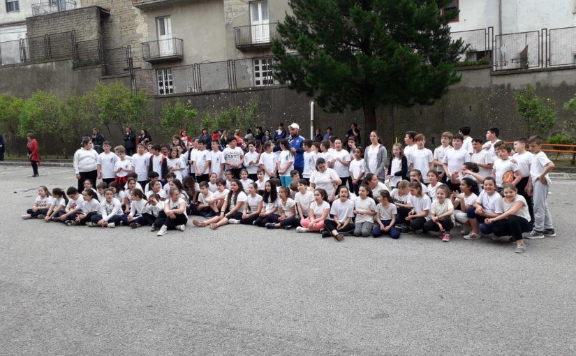 """Alunni di Guardia Sanframondi e San Lorenzo Maggiore dell'I.C. """"A. De Blasio"""" alla giornata """"Gioco-sport"""""""