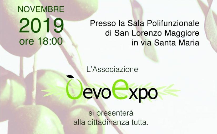 Presentazione dell'associazione O'Evo Expo a San Lorenzo Maggiore